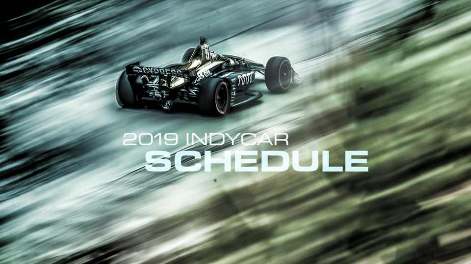 Grand Prix of Portland Returns August 30 - September 1, 2019, Circuit of the Americas Joins 17-Race IndyCar Schedule