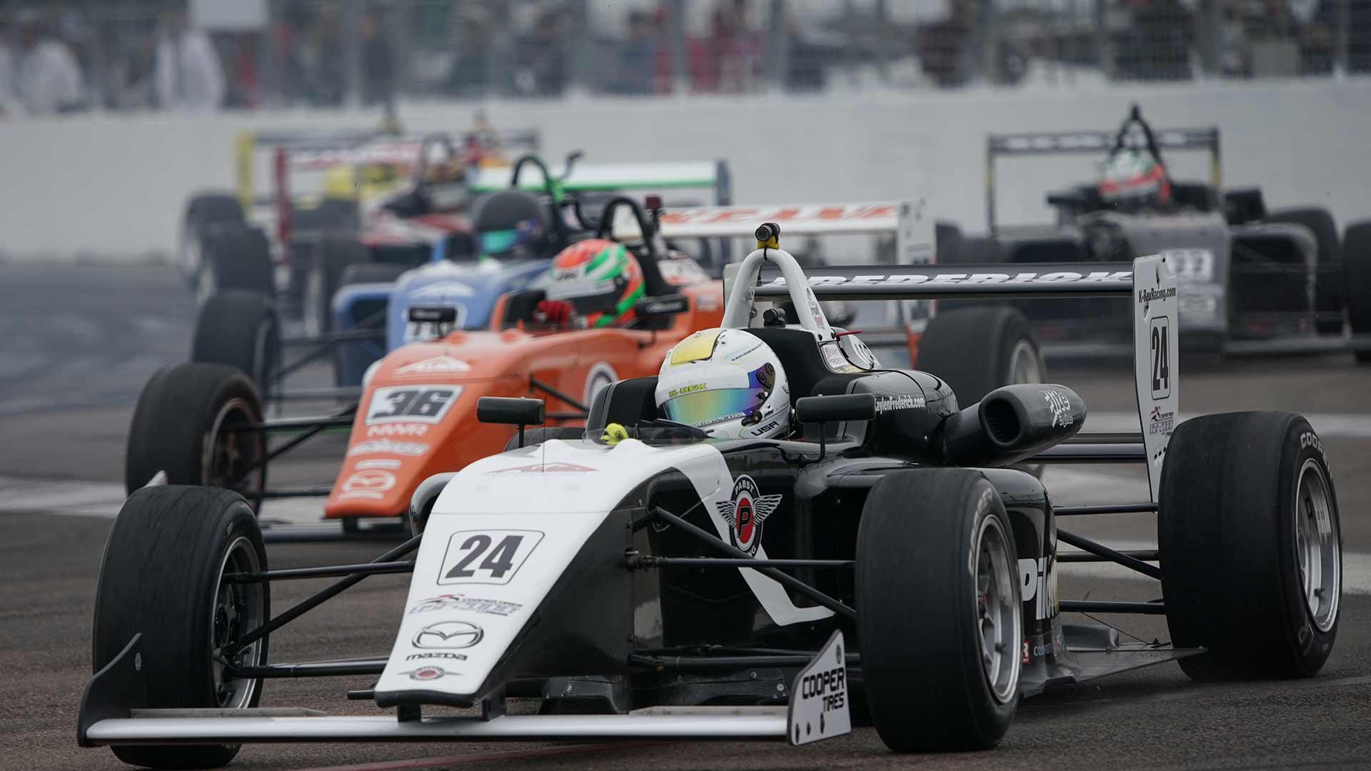 Road to Indy cars on track